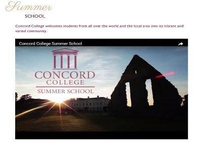 イギリスの名門Concord College のサマースクール