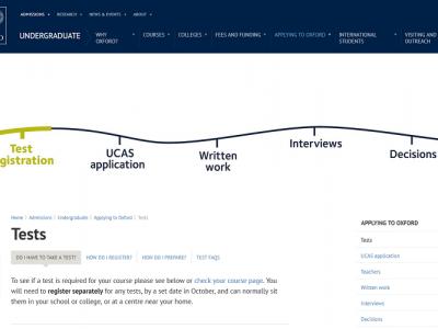 オックスフォード大学の合格基準 ー 国際バカロレア / Aレベル/ケンブリッジ国際Aレベルと入学試験