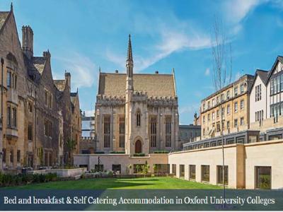 オックスフォードに滞在するための宿泊先探し(カレッジ滞在・B&B )