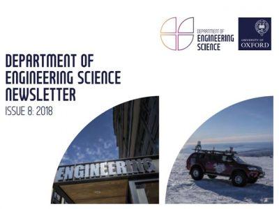 オックスフォード大学 工学部のニュースレター 2018