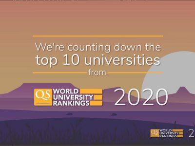 QS 世界大学ランキング 2020 上位50校